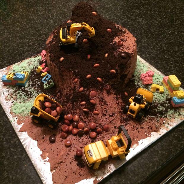 I cried a little bit when we cut the cake!