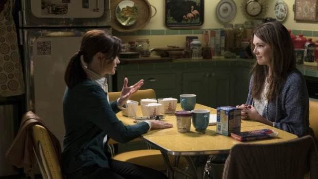 Gilmore Girls eat cool Chinese