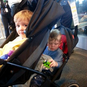 Chilled out in the stroller