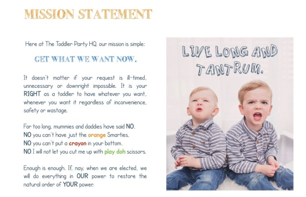 The TOddler PArty MAnifesto.002